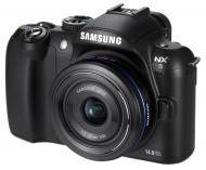Цифровой фотоаппарат Samsung NX5 + объектив 18-55mm Black (EV-NX5ZZZBABUA)