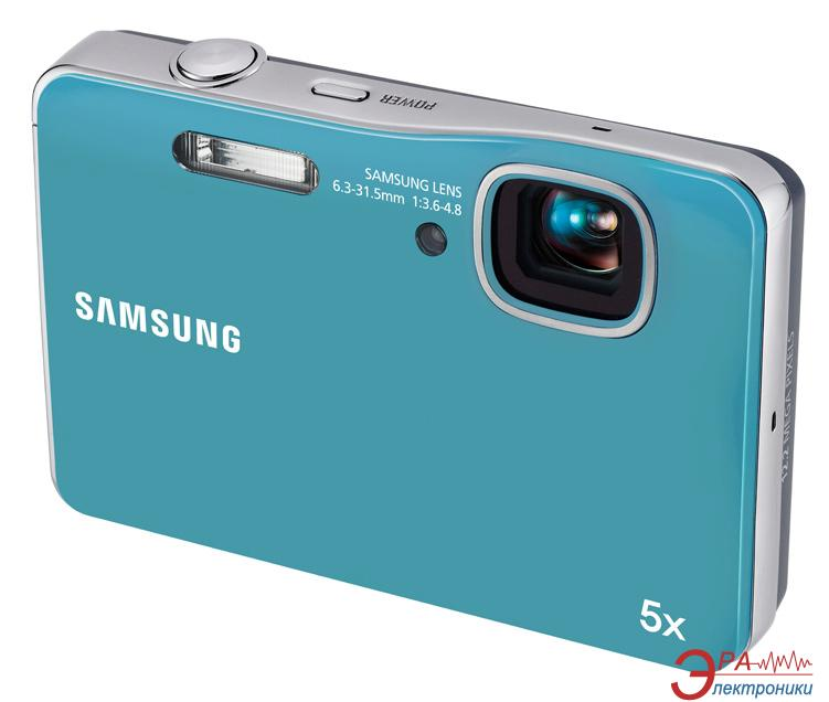 Цифровой фотоаппарат Samsung WP10 Blue
