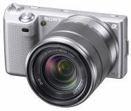 Цифровой фотоаппарат Sony NEX-5 + объектив 18-55mm KIT Silver (NEX5KS.CEE2)
