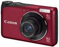 Цифровой фотоаппарат Canon PowerShot A2200 Red (4944B018)