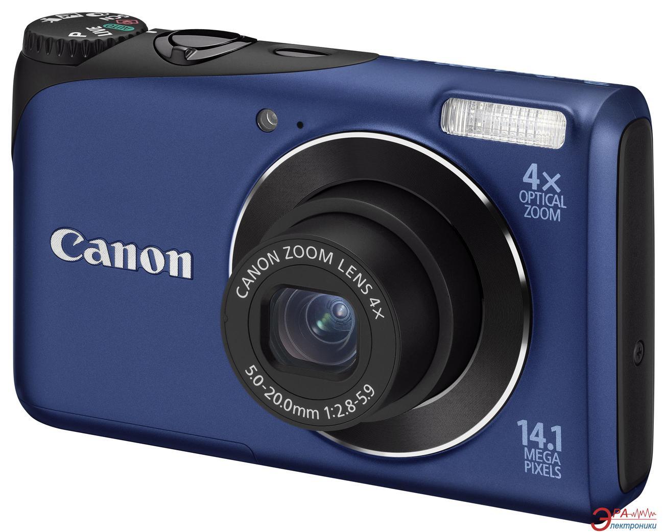 Цифровой фотоаппарат Canon PowerShot A2200 Blue (4942B018)
