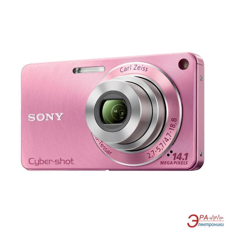 Цифровой фотоаппарат Sony Cyber-shot DSC-W350 Pink (DSC-W350)