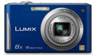 Цифровой фотоаппарат Panasonic LUMIX DMC-FS35 Blue (DMC-FS35EE-A)
