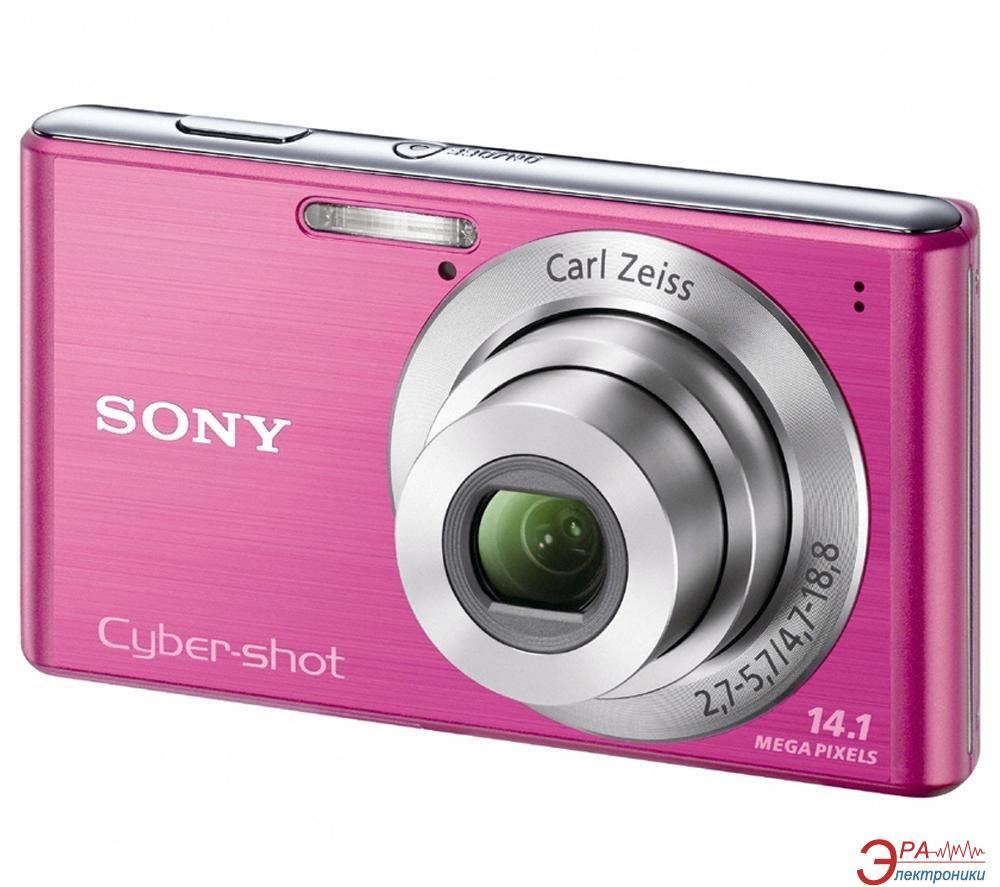 Цифровой фотоаппарат Sony Cyber-shot DSC-W530 Pink (DSCW530P.CEE2)