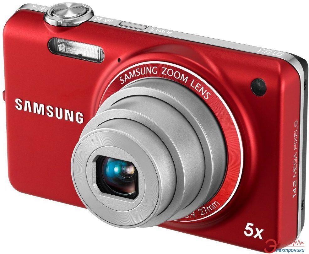 Цифровой фотоаппарат Samsung ST65 Red