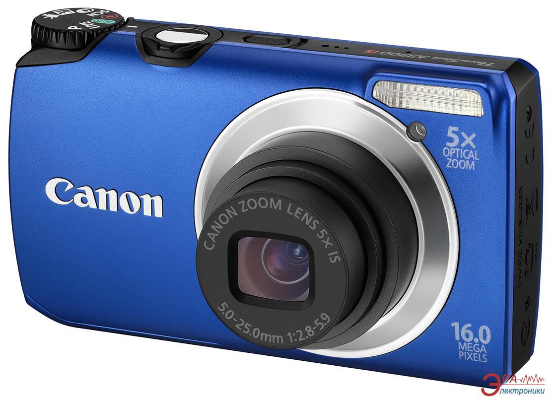 Цифровой фотоаппарат Canon PowerShot A3300 IS Blue