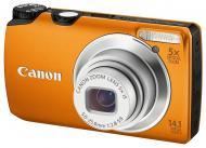 Цифровой фотоаппарат Canon PowerShot A3200 IS Orange (5042B015)