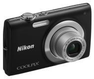 Цифровой фотоаппарат Nikon COOLPIX S2500 Black (VMA781E1)
