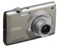 Цифровой фотоаппарат Nikon COOLPIX S2500 Silver (VMA780E1)