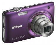 Цифровой фотоаппарат Nikon COOLPIX S3100 Purple (VMA714E1)