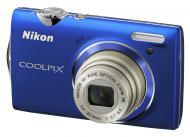 Цифровой фотоаппарат Nikon COOLPIX S5100 Blue (VMA645E1)