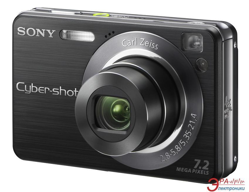 Цифровой фотоаппарат Sony Cyber-shot DSC-W120 Black (DSC-W120B)