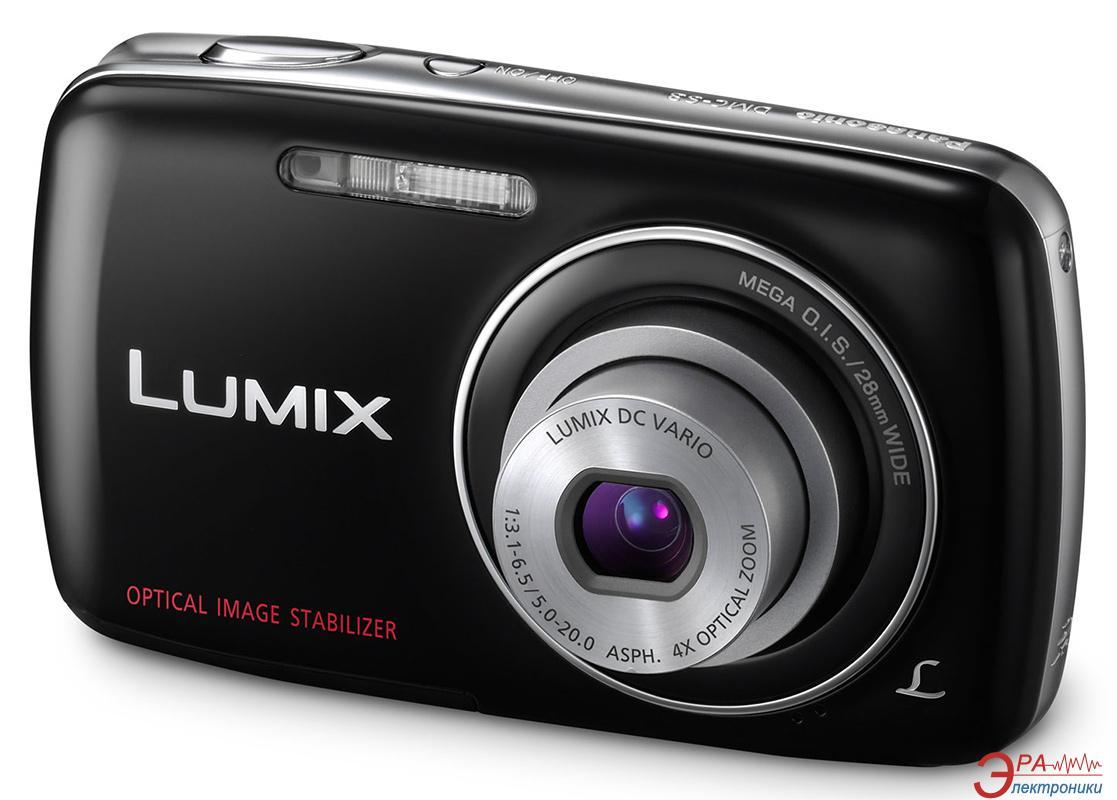 Цифровой фотоаппарат Panasonic LUMIX DMC-S3 Black (DMC-S3EE-K)