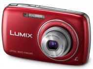 Цифровой фотоаппарат Panasonic LUMIX DMC-S3 Red (DMC-S3EE-R)