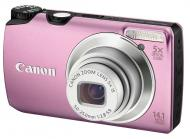 Цифровой фотоаппарат Canon PowerShot A3200 IS Pink (5040B017)