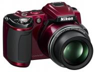 Цифровой фотоаппарат Nikon COOLPIX L120 Red