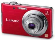 Цифровой фотоаппарат Panasonic LUMIX DMC-FS16 Red (DMC-FS16EE-R)