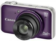 Цифровой фотоаппарат Canon PowerShot SX220 HS Purple