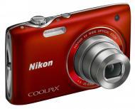 �������� ����������� Nikon COOLPIX S3100 Red