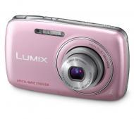 Цифровой фотоаппарат Panasonic LUMIX DMC-S1 Pink (DMC-S1EE-PA)