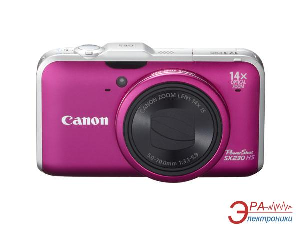 Цифровой фотоаппарат Canon PowerShot SX230 HS Red