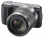 Цифровой фотоаппарат Sony NEX-C3 + объектив 18-55mm KIT Black (NEXC3KB.CEE2)