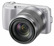 �������� ����������� Sony NEX-C3 + �������� 18-55mm KIT Silver (NEXC3KS.CEE2)