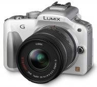 Цифровой фотоаппарат Panasonic LUMIX DMC-G3 Kit 14-42mm White (DMC-G3KEE-W)