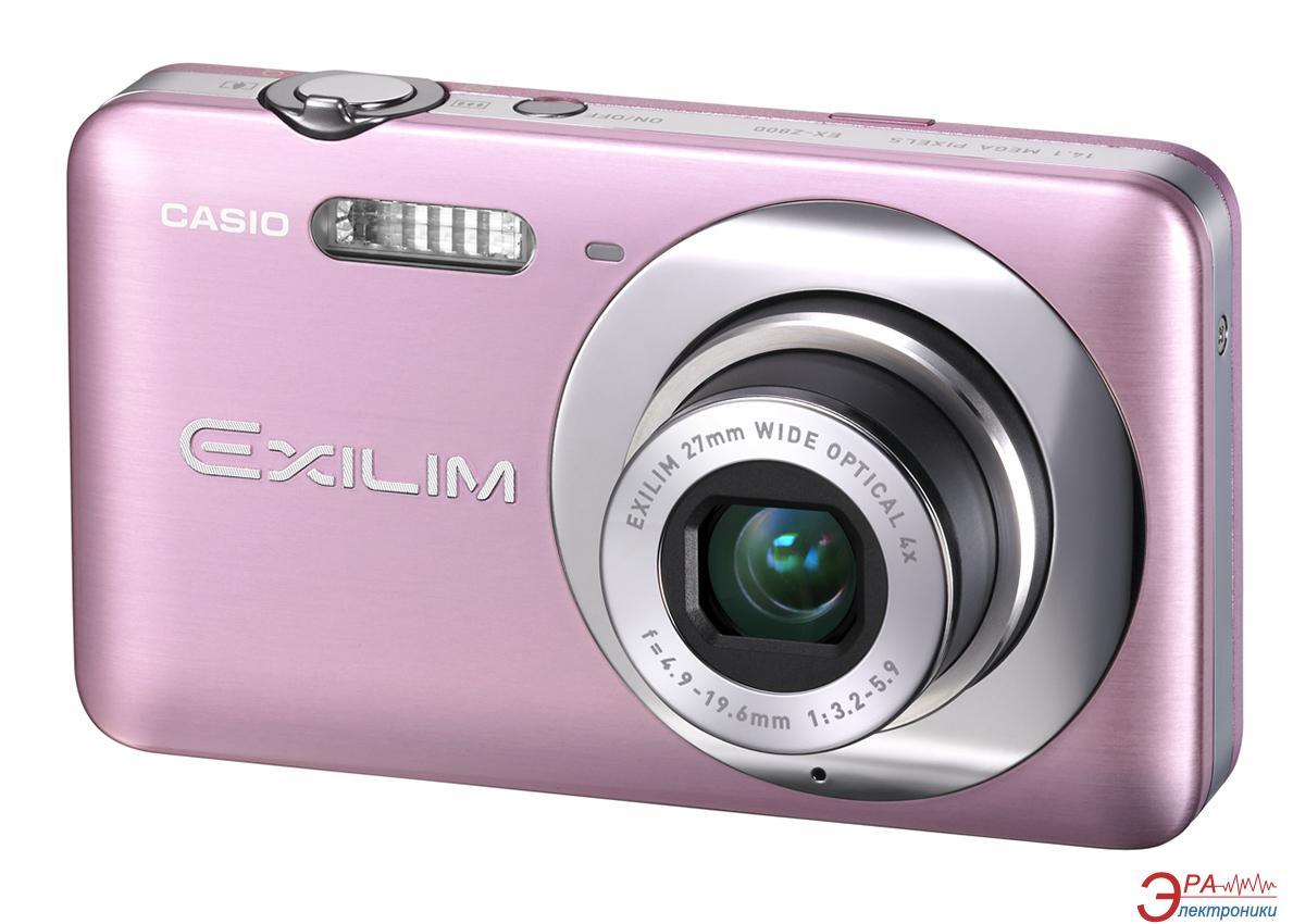 Цифровой фотоаппарат CASIO Exilim EX-Z800 Light Rose
