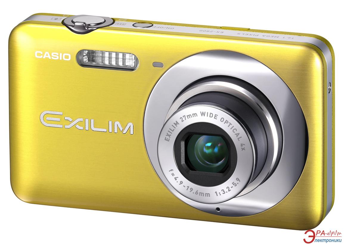 Цифровой фотоаппарат CASIO Exilim EX-Z800 Yellow