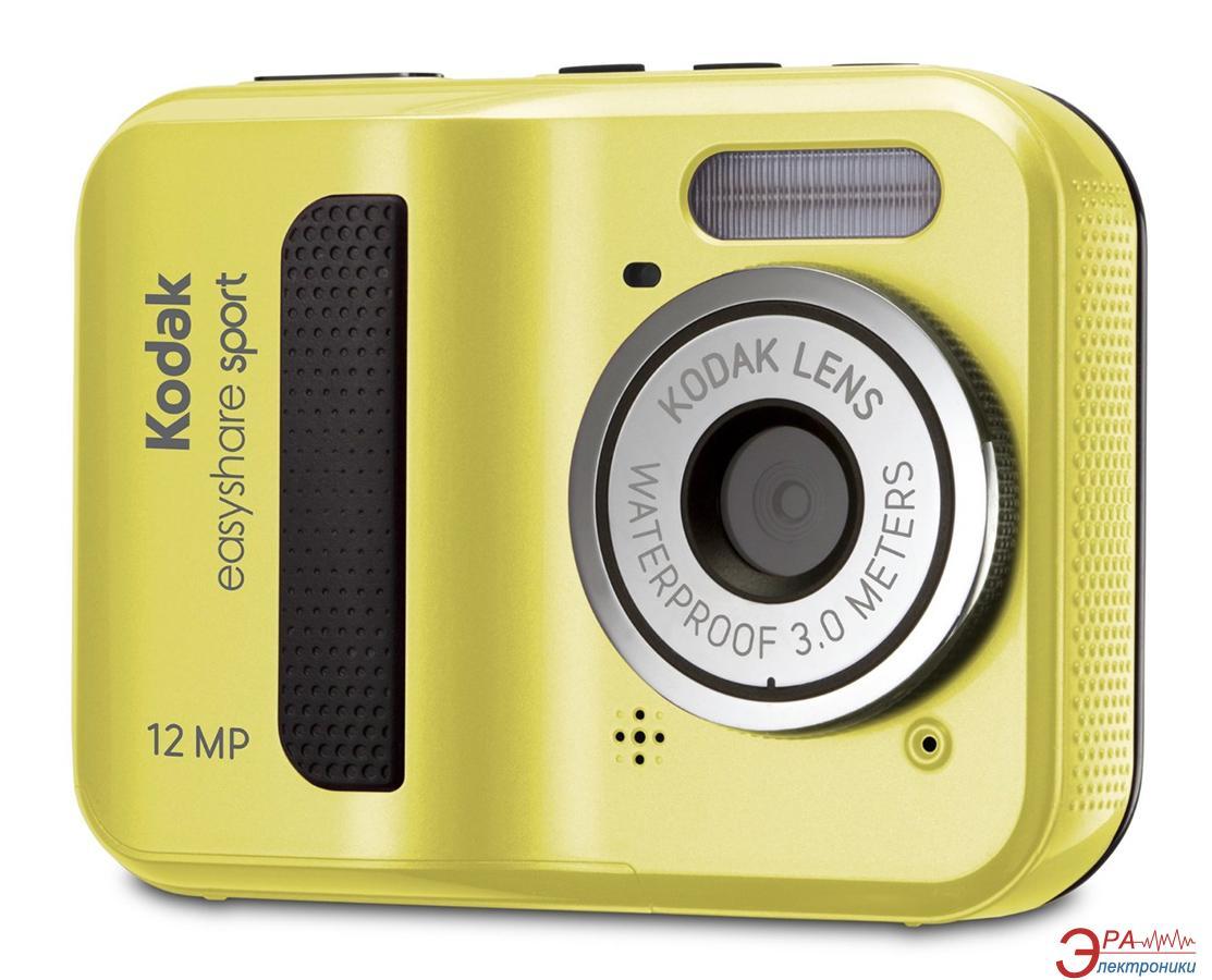 Цифровой фотоаппарат Kodak EasyShare C123 Yellow