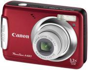 Цифровой фотоаппарат Canon PowerShot A480 Red (3474B001)