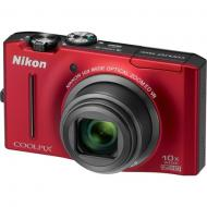 �������� ����������� Nikon COOLPIX S8100 Red