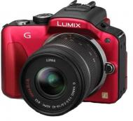 Цифровой фотоаппарат Panasonic LUMIX DMC-G3 Kit 14-42mm Red (DMC-G3KEE-R)