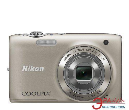 Цифровой фотоаппарат Nikon COOLPIX S4100 Silver