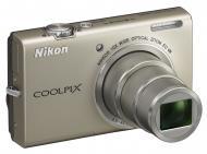 Цифровой фотоаппарат Nikon COOLPIX S6200 Silver