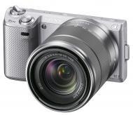 �������� ����������� Sony NEX-5N + �������� 18-55mm KIT Silver (NEX5NKS.CEE2)