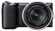 �������� ����������� Sony NEX-5N + �������� 18-55mm KIT Black (NEX5NKB.CEE2)