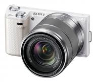 Цифровой фотоаппарат Sony NEX-5N + объектив 18-55mm KIT White (NEX5NKW.CEE2)