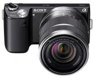 Цифровой фотоаппарат Sony NEX-5N + объектив 16mm + 18-55mm KIT Black (NEX5NDB.CEE2)