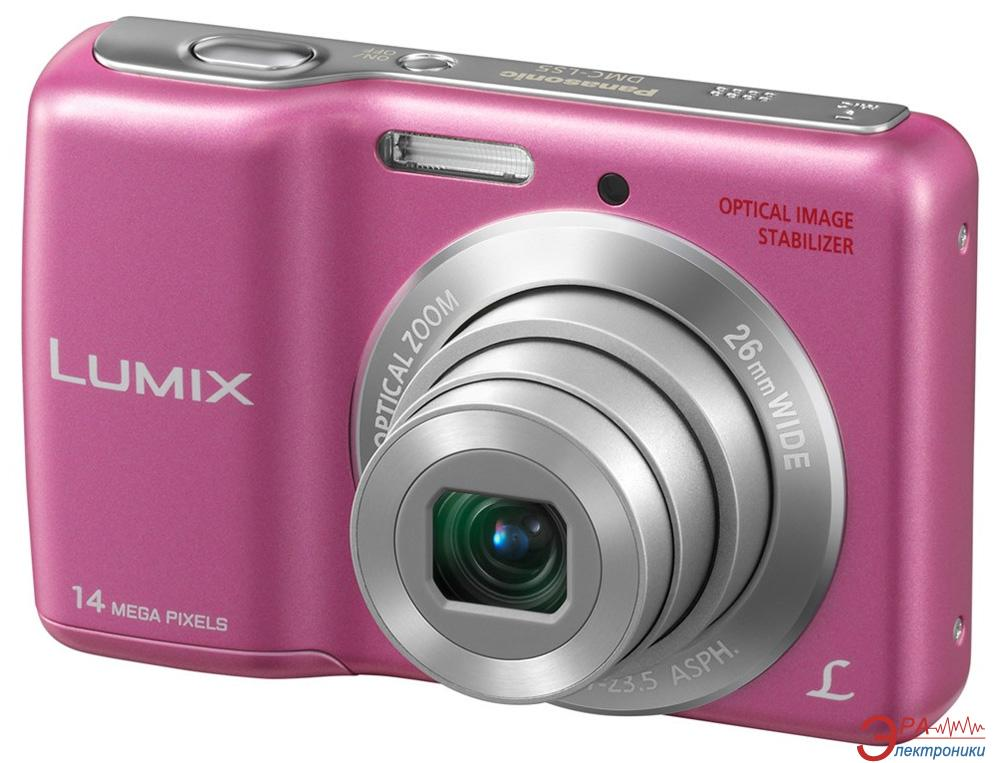 Цифровой фотоаппарат Panasonic LUMIX DMC-LS5 Pink (DMC-LS5EE-P)