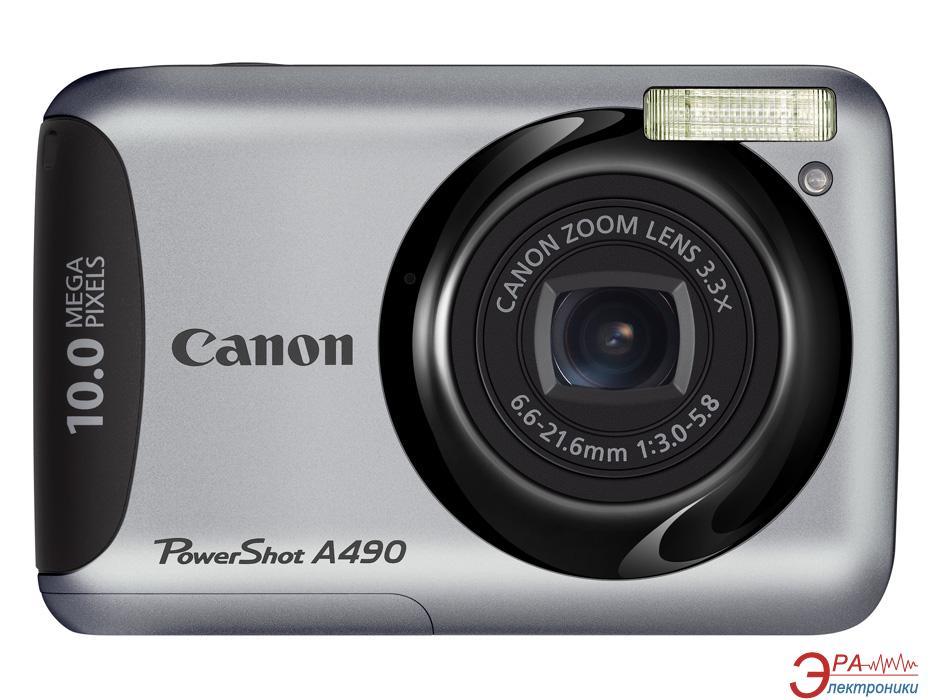 Цифровой фотоаппарат Canon PowerShot A490 Silver (4258B002)
