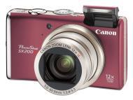 Цифровой фотоаппарат Canon PowerShot SX200 IS Red (3511B002)