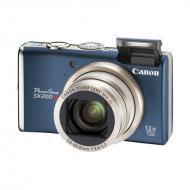 Цифровой фотоаппарат Canon PowerShot SX200 IS Blue (3510B002)