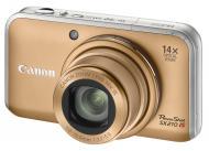 Цифровой фотоаппарат Canon PowerShot SX210 IS Gold (4245B002)