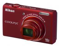 �������� ����������� Nikon COOLPIX S6200 Red
