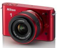 Цифровой фотоаппарат Nikon 1 J1 Kit + 10-30mm VR Red (VVA155K001)