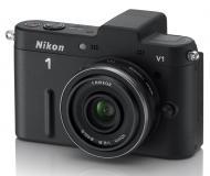 Цифровой фотоаппарат Nikon 1 V1 Kit + объектив 10mm f/2.8 Black (VVA101K002)