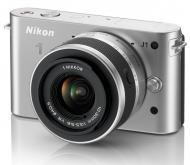 Цифровой фотоаппарат Nikon 1 J1 Kit + 10-30mm VR Silver (VVA154K001)