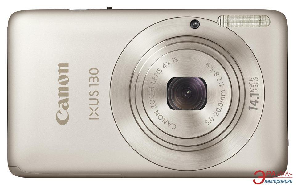 Цифровой фотоаппарат Canon DIGITAL IXUS 130 IS Silver (4184B001)